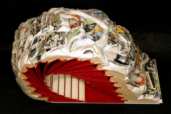 00012048 Book Sculptures That Will Amaze You