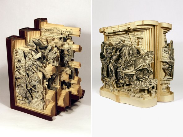 00012051 Book Sculptures That Will Amaze You
