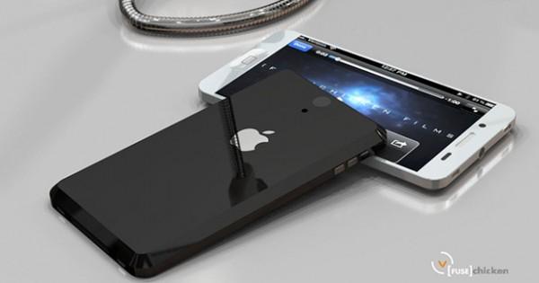 iPhone 5 LiquidMetal Concept
