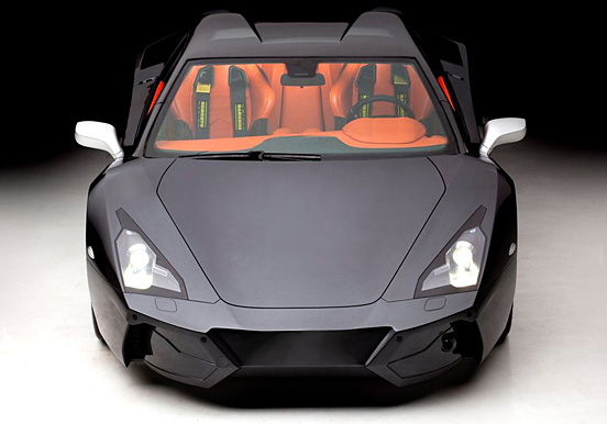 Arrinera Supercar 004 Arrinera   The Future Super Car With Night Vision Technology