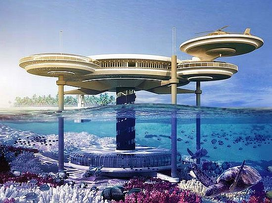 discushotel2 Underwater Hotel in Dubai