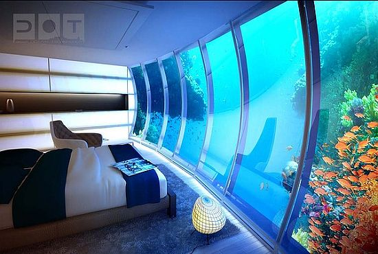 discushotel3 Underwater Hotel in Dubai