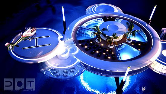 discushotel4 Underwater Hotel in Dubai