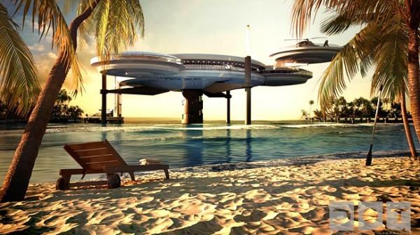 discushotel5 600x337 Underwater Hotel in Dubai