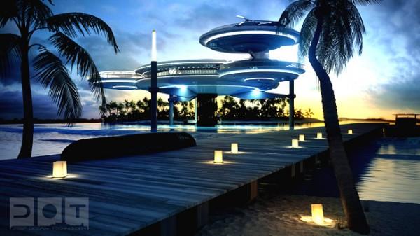 discushotel7 600x337 Underwater Hotel in Dubai