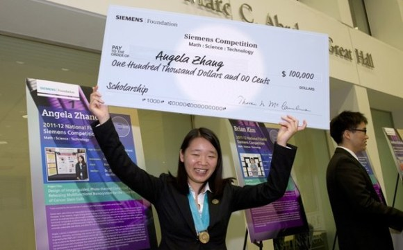 Anti-Cancer Nano Particles Built By A 17 Years Old Girl Makes Her Win $100,000