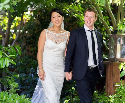 mark zuckerberg marriage priscilla chan Facebook CEO Mark Zuckerberg Got Married Yesterday