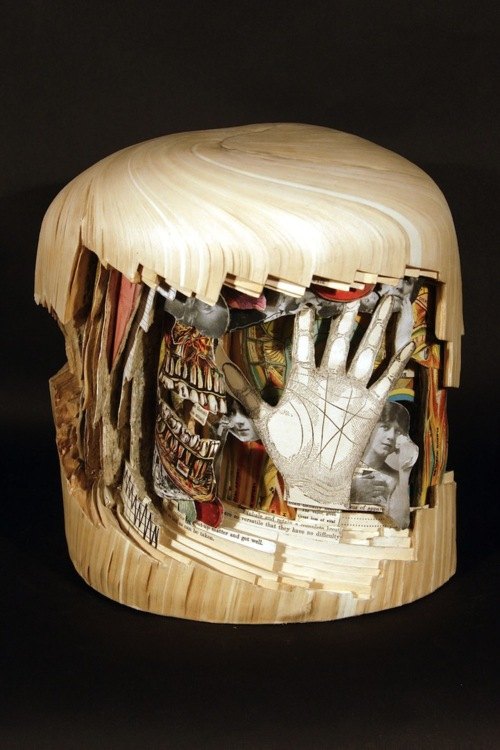 tumblr m3azv6Rdhv1rri0tpo1 r1 500 Book Sculptures That Will Amaze You