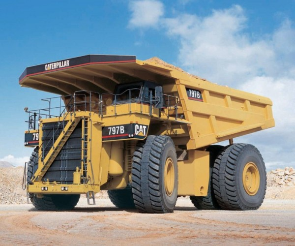 Caterpillar 797 new 600x500 Worlds Most Colossal Construction Machinery