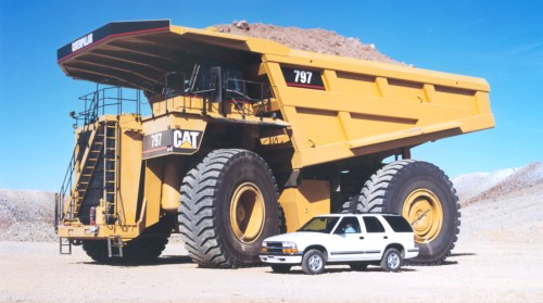 Caterpillar 797 Worlds Most Colossal Construction Machinery