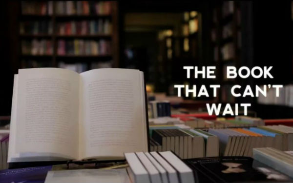 The Book That Cant Wait Books That Disappear If You Dont Read Them