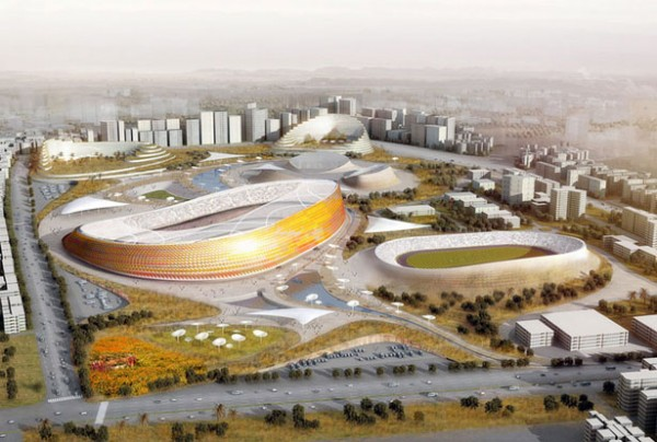 addis ababa national stadium and sports village1 600x404 Addis Ababa's Future National Stadium And Sports Village In Ethiopia