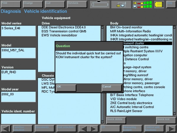 BMW Complete Diagnostic Fault Code List [E36, E46, E90 and