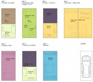 coodo modular residential building6 300x266 Z:MODUL caloop3. PROGRAMI5. BIVALNA ENOTAIDZposamezne enote