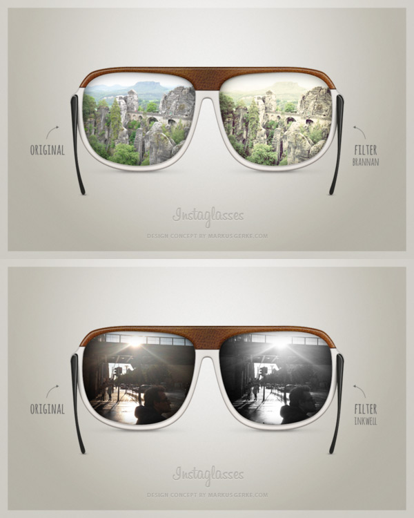 instaglasses instagram glasses filters Instaglasses Brings A New Concept For Instagram Camera