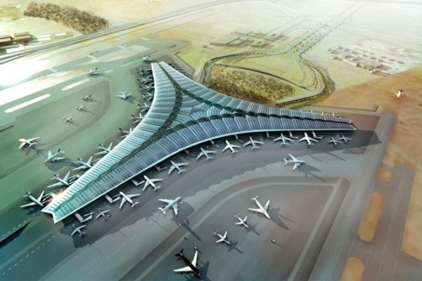 kuwait airport 630w 600x399 The New Kuwait Airport in Photos & Video