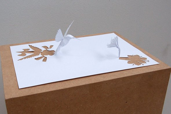 00036376 Stunning Paper Art!
