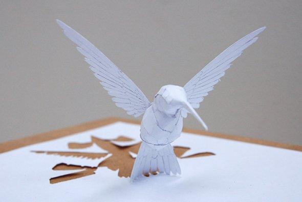 00036377 Stunning Paper Art!
