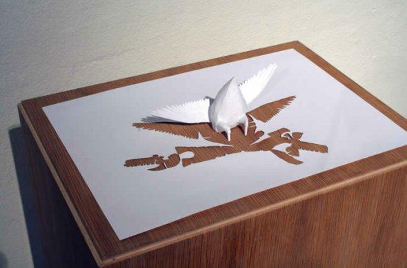 00036378 Stunning Paper Art!