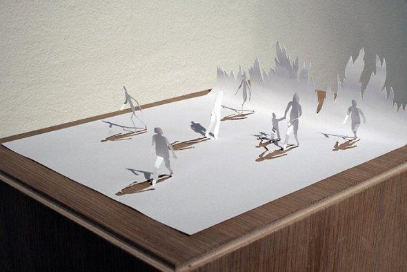 00036380 Stunning Paper Art!