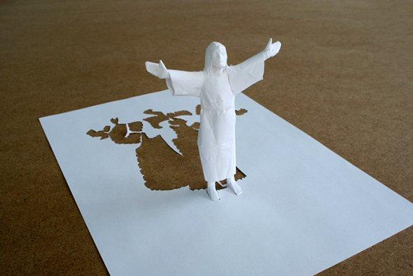 00036386 Stunning Paper Art!