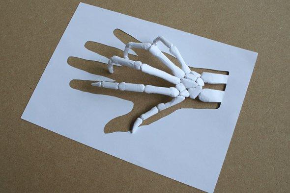 00036388 Stunning Paper Art!
