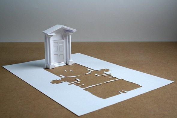 00036392 Stunning Paper Art!