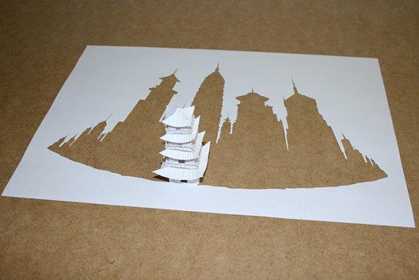 00036395 Stunning Paper Art!
