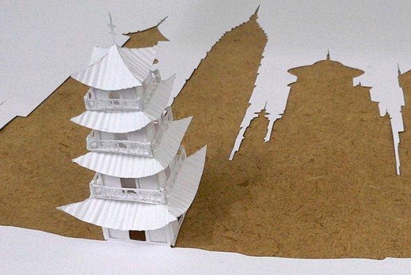 00036396 Stunning Paper Art!