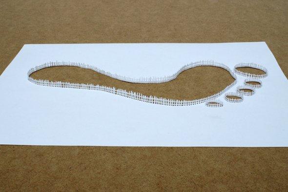 00036398 Stunning Paper Art!