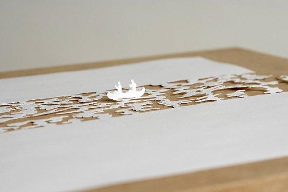 00036401 Stunning Paper Art!