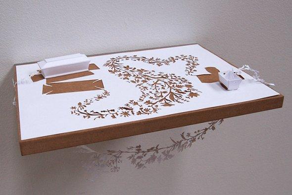 00036402 Stunning Paper Art!