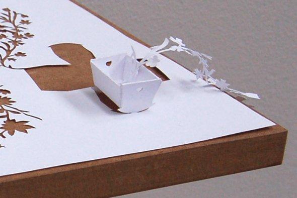 00036403 Stunning Paper Art!