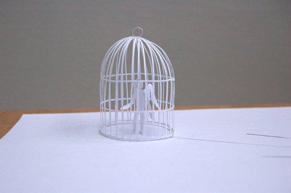 00036404 Stunning Paper Art!