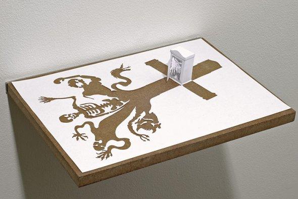 00036405 Stunning Paper Art!