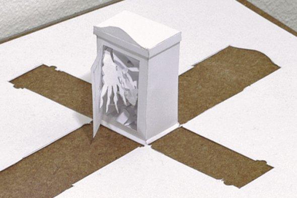 00036406 Stunning Paper Art!