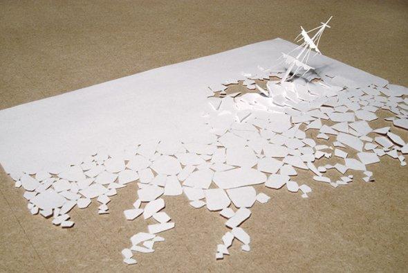 00036407 Stunning Paper Art!