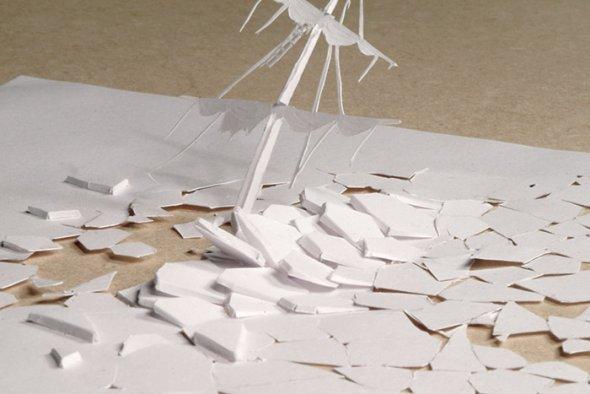 00036408 Stunning Paper Art!