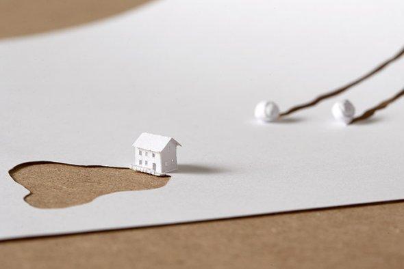 00036412 Stunning Paper Art!