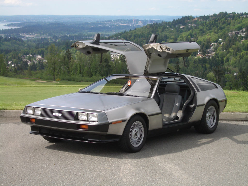 1981 DeLorean DMC-12 Back to the Future