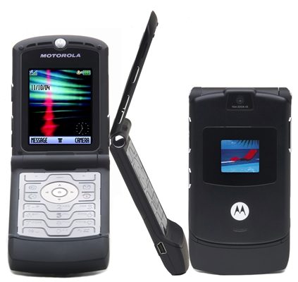 Motorola RAZR Top 10 All Time Best Selling Cell Phones