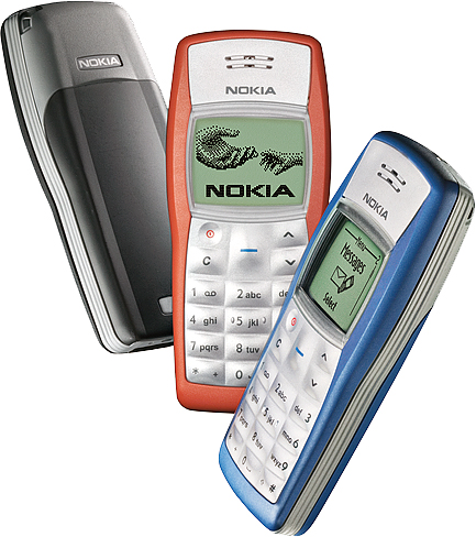 Nokia 1100 Top 10 All Time Best Selling Cell Phones