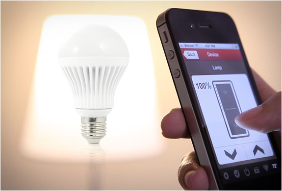 insteon led bulb Now Control The Bulb Of Your House From Your Phone [Video]