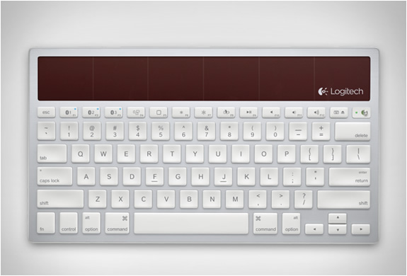 logitech wireless solar keyboard k760 3 This Wireless Keyboard Has Endless Limits