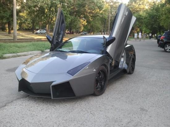 Ukrainian Lamborghini Reventon 550x412 Ukrainian Lambo Fan Turns His Mitsubishi Eclipse Into Lamborghini Reventon