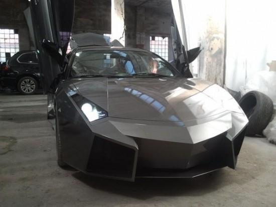 Ukrainian Lamborghini Reventon10 550x412 Ukrainian Lambo Fan Turns His Mitsubishi Eclipse Into Lamborghini Reventon