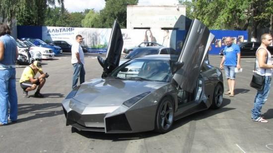 Ukrainian Lamborghini Reventon11 550x309 Ukrainian Lambo Fan Turns His Mitsubishi Eclipse Into Lamborghini Reventon