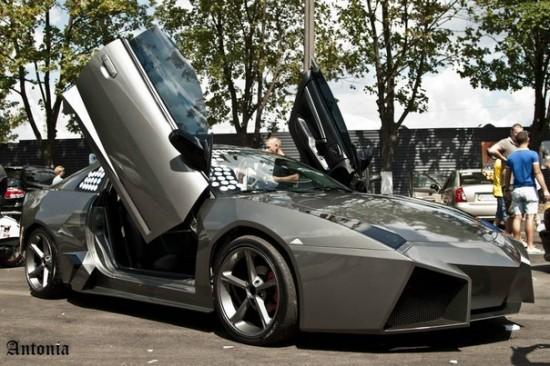 Ukrainian Lamborghini Reventon12 550x366 Ukrainian Lambo Fan Turns His Mitsubishi Eclipse Into Lamborghini Reventon