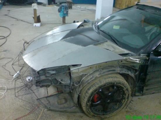 Ukrainian Lamborghini Reventon3 550x412 Ukrainian Lambo Fan Turns His Mitsubishi Eclipse Into Lamborghini Reventon