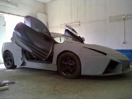 Ukrainian Lamborghini Reventon7 550x412 Ukrainian Lambo Fan Turns His Mitsubishi Eclipse Into Lamborghini Reventon